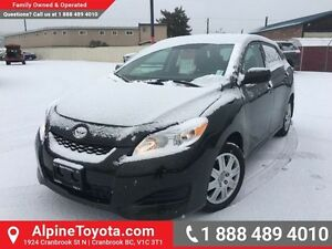 2013 Toyota Matrix 4DR WGN FWD AT   Air conditioning, hood defle