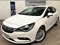 2017/17 Vauxhall Astra 1.4i 16v Turbo 150ps Auto Elite SatNav + leather