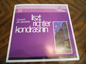 Liszt Piano Concerto on Vinyl/Phonograph/Gramophone Record