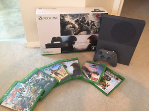 Xbox One S 500GB + 6 Games