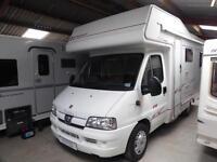 Elddis Autoquest 170 4 berth rear bed coachbuilt motorhome for sale Ref 10695