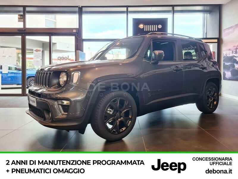 Jeep Renegade 1.3 t4 80th anniversary 2wd 150cv ddct
