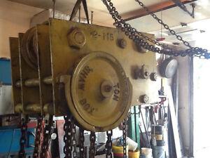Palan a chaîne 8 tonnes