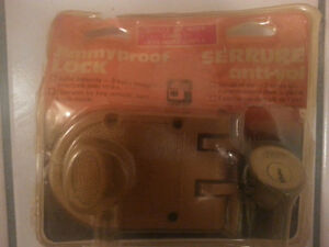 New: Unused, unopened deadbolt lock