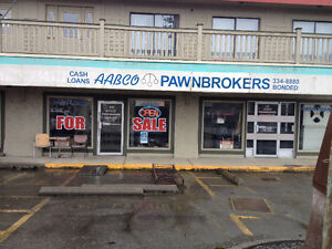 Aabco pawnbrokers Courtenay for sale