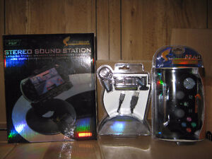 PS2 wireless controllers and psp sound stations