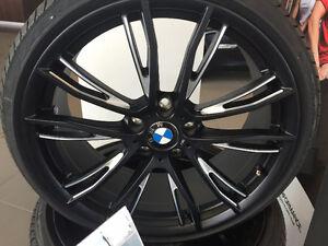 "20"" BMW 624M Black Wheels - Brand New with Run Flat Tires"