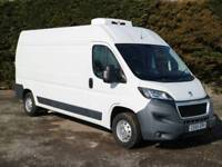 2015 (65) PEUGEOT BOXER 335 PROFESSIONAL L3H2 HIGH ROOF REFRIGERATED CHILLER LWB