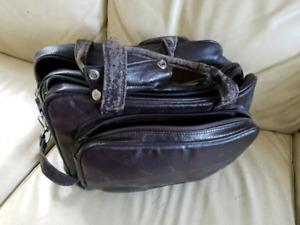 Vintage Camera Bag, Flash, Teleconverter + 4 Rolls of Film