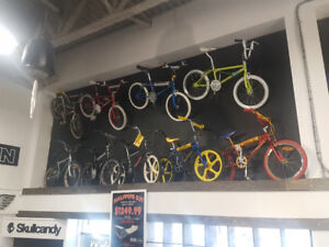 Old School BMX & Freestyle bike collection 80's