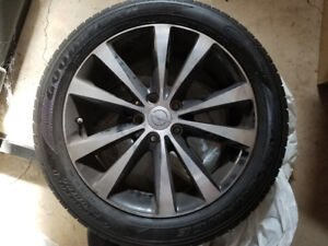 Chrysler 200 s rims and tires set of 4