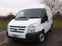 2012 FORD TRANSIT SWB MEDIUM ROOF 1 owner 6 speed Euro5 LOW MILEAGE