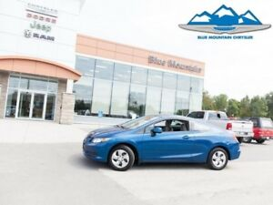 2013 Honda Civic Coupe LX  CERTIFIED/ETESTED, FUEL SAVER LOW MIL