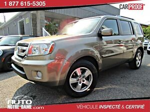 Honda Pilot 4WD 4dr EX-L w-RES 7 Places CUIR TOIT TV- DVD ** 201