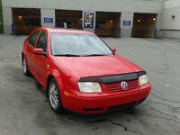 2001 Volkswagen Jetta Wolfsburg