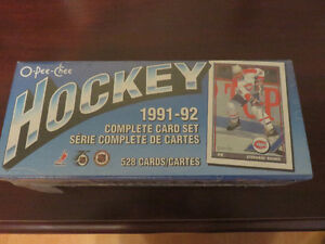 Mint, unpacked, O-Pee-Chee NHL Hockey Cards.