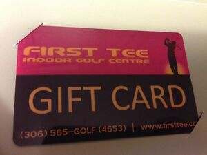 Golf Gift Certificate