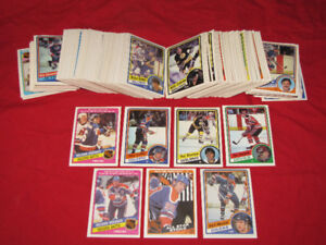 Over 300 different 1984-85 O-Pee-Chee hockey cards, near mint*