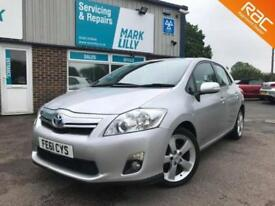 2011 Toyota Auris 1.8 VVT-i HSD HYBRID AUTOMATIC T4 ONLY 54,000 MILES
