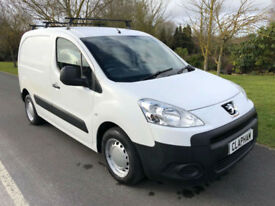 2011 11 PEUGEOT PARNTER 1.6HDI 90BHP 850 L1 ANY UK DELIVERY NO VAT