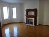 Victorian 3 bed 5 appliances NDG 1st Floor Triplex + Sunroom