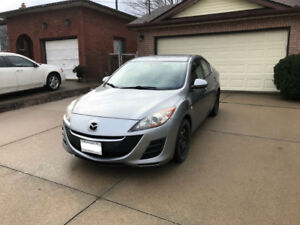 2010 Mazda3 GX - with winters - $4200 OBO