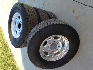 Blizzak W965 Winter Tires & 8 bolt rims