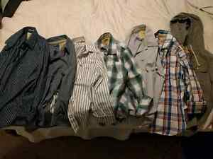 Hardly used Hollister and Abercrombie shirts