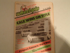 Vintage Collection of 6 WHEELSPIN NEWS Canada's Motorsport News Sarnia Sarnia Area image 7
