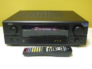 Denon AVR-1706 A/V 7.1 Receiver 110 watts a Channel with Remote