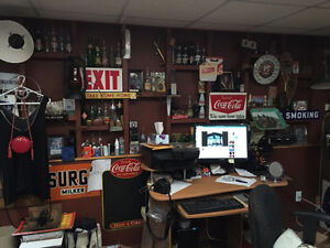 Vintage Oil & Gas and Soda Pop items and much more...NEW STUFF