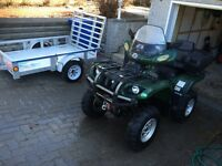 YAMAHA GRIZZLY 660 2003 4X4 AUTO TRES PROPRE PASSE 2015