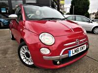 2011 FIAT 500C C LOUNGE 2DOOR DUALOGIC 0.9 TWINAIR AUTOMATIC PETROL CONVERTIBLE