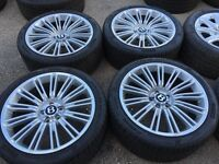 Bentley alloy wheels alloys rims 5x112 Volkswagen vw seat skoda Audi very rare