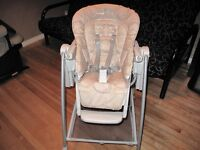 Peg Perego prima pappa high chair - Excellent condition