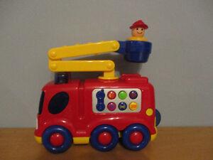 Camion  De  Pompier  Sonore