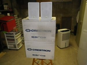 4 CRESTRON SAROS/SR6T HOME SPEAKERS NEW IN BOXS $225.00