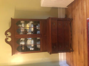antique Dining room hutch for sale