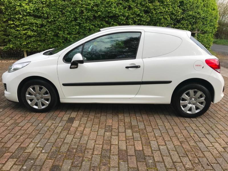2010 peugeot 207 van 1.4 hdi face lift model | in south woodham