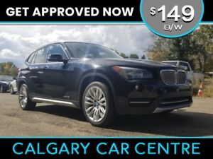 2014 BMW X1  $149B/W w/Leather, PanoRoof, BlueTooth. DRIVE HOME