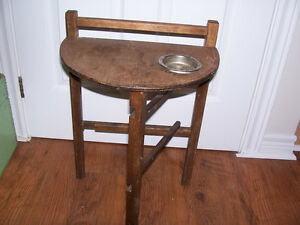 Vintage Smokers Side Table