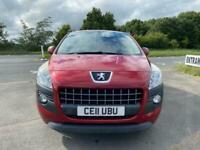 2011 Peugeot 3008 HDI SPORT Hatchback Diesel Manual