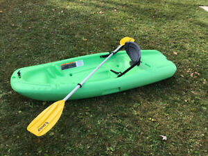 Kids 6ft Sit-On-Top Kayak with Paddle