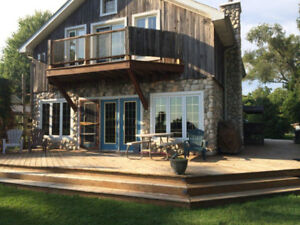 Winter Rental -Lakefront Cottage available Nov 21 in Kingsville