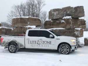 WEATHERED ARMOUR STONE SALE: LANDSCAPE & WATERFALL STONE