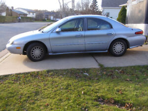 1998 Mercury Sable LS, NO RUST, LEAK IN TRANSMISSION