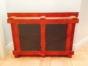 Double wooden antique mirror frame West Island Greater Montréal image 5