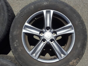 Selling like new Toyota Rims on Summers tires ! Reduce Price