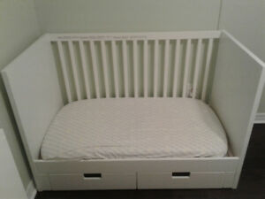 Ikea Stuva crib with drawers (2 available)
