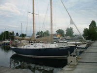BLUE WATER TRADITIONAL SCHOONER FOR SALE ($ 30,000.00)
